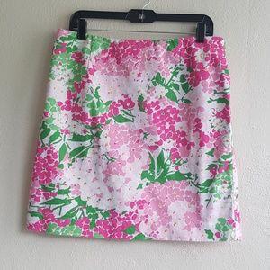 Lauren Ralph Lauren Floral Pencil Skirt